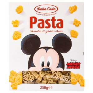 Паста Dalla Costa Disney Mickey Mouse 250г Италия