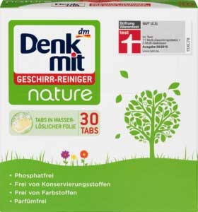 таблетки для ПММ Denkmit Nature 30 шт
