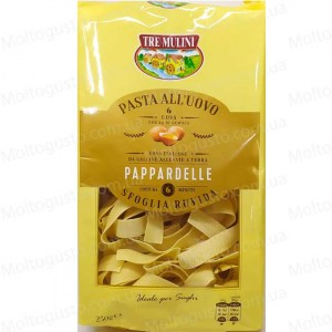 Tre Muini Паста яичная Pappardelle all'uovo 250г Италия