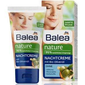 Ночной крем Balea Nature Bio - Olivenol 50ml.