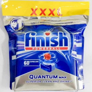 Таблетки для ПММ Finish Quantum Max PowerBall 60 шт
