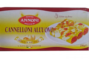 Cannelloni all'Uovo 250г Италия